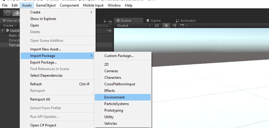 Обучение разработке на Unity3D  Написание небольшого шутера
