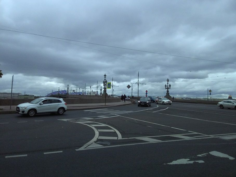 Прогулка по Петровской набережной (Петроградская сторона)