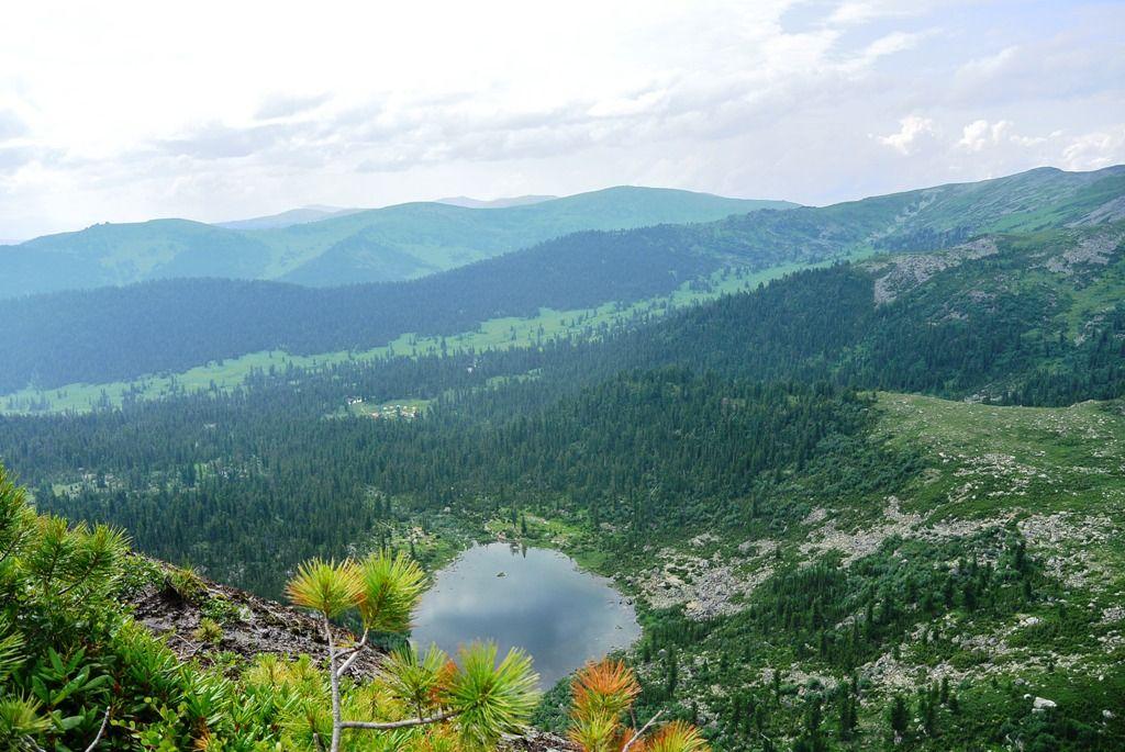 Вид от Висячего Камня