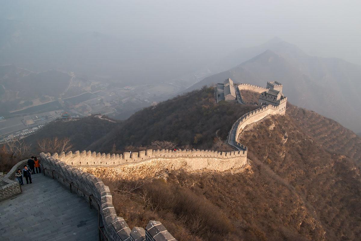 Как увидеть Китайскую Стену без туристов