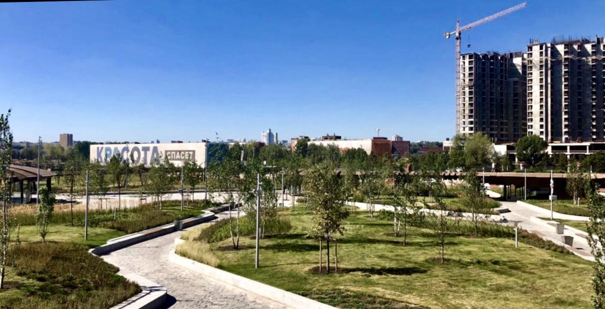 Новый парк на ЗИЛе