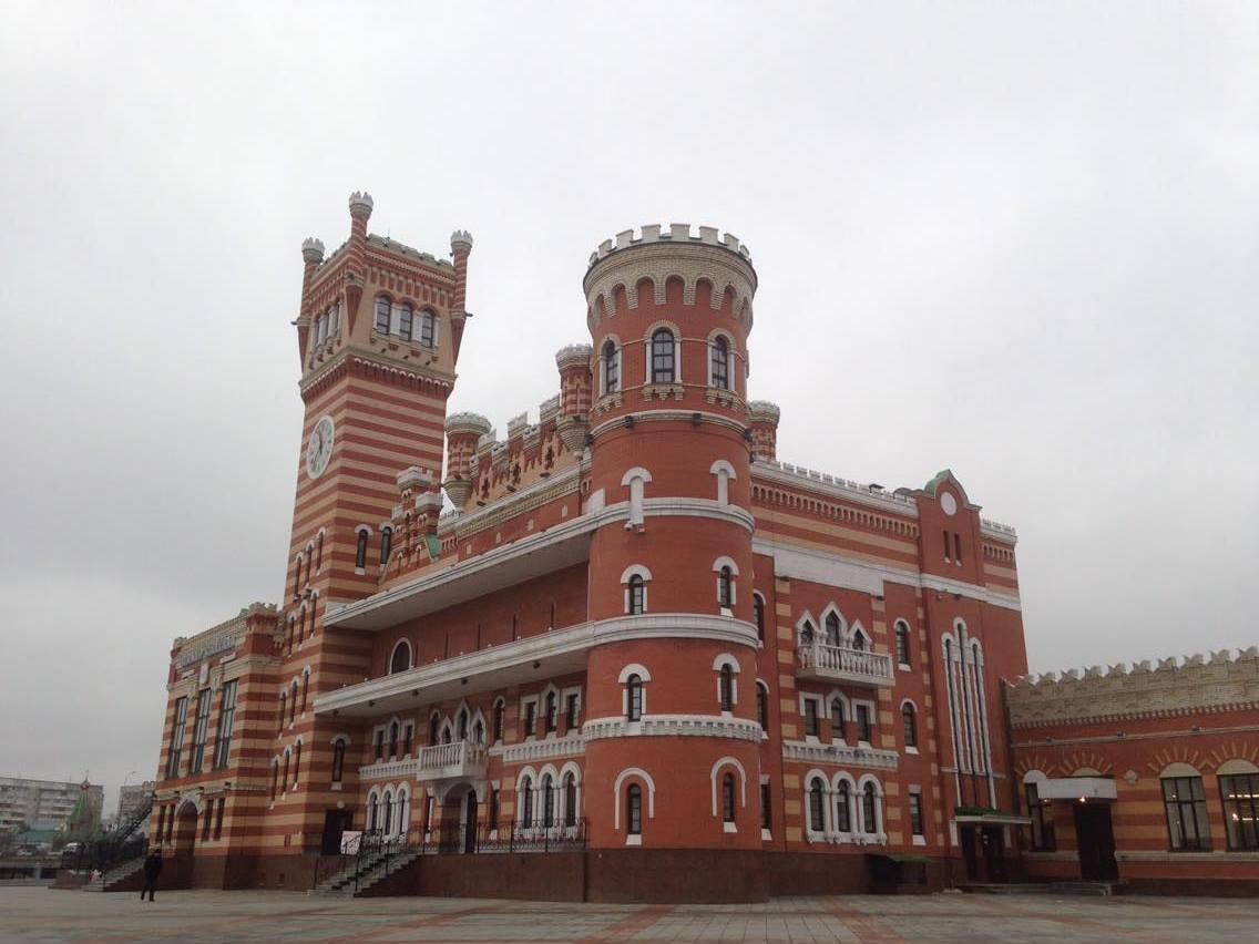 Йошкар Ола, Царевококшайский кремль.