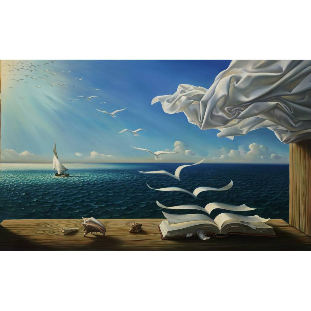 277012-digital_art-fantasy_art-nature-painting-sea-seashell-table-wood-curtains-feathers-clouds-sun-sunlight-books-birds-flying-surreal-1080x1080.jpg