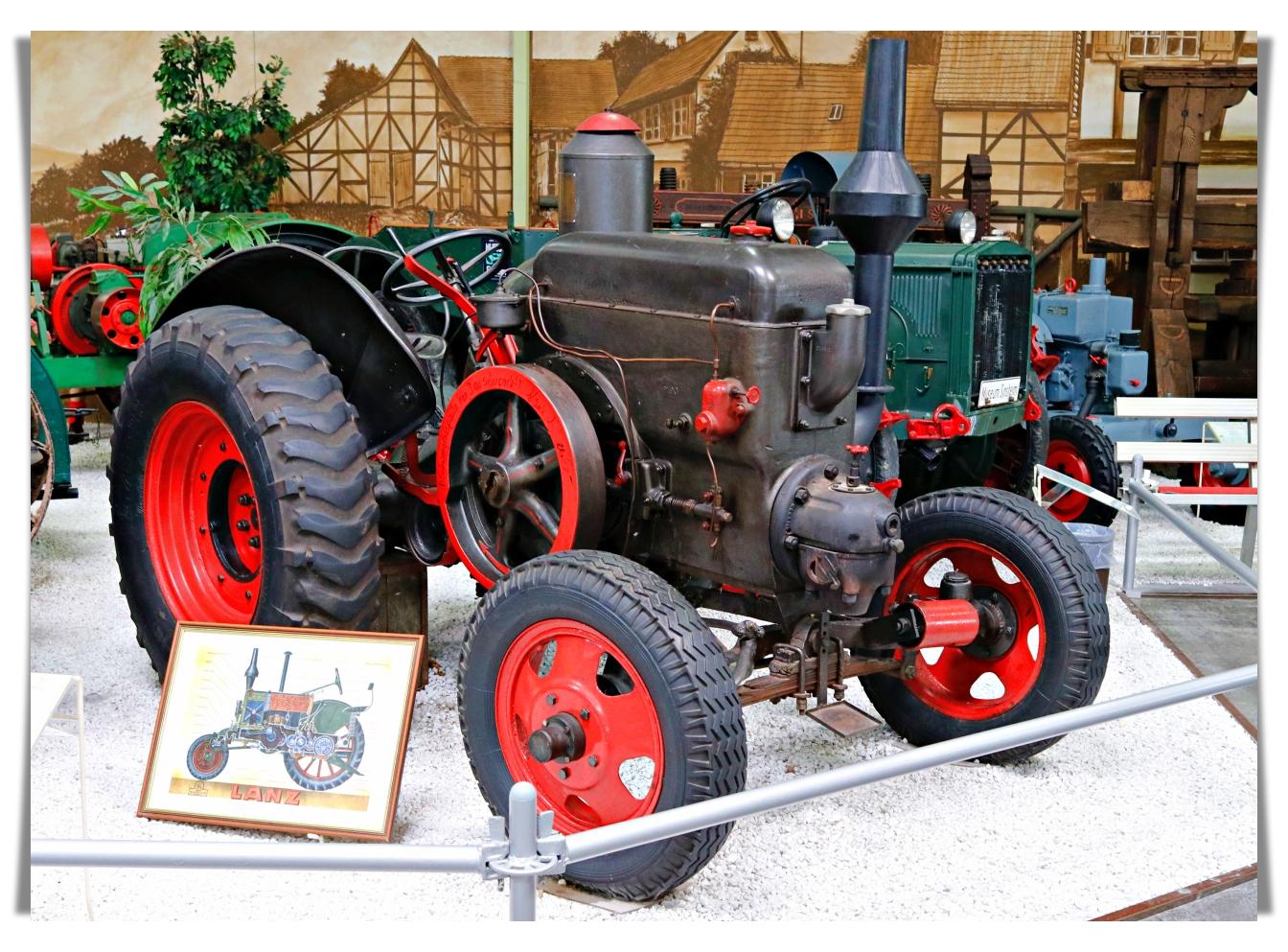 Трактор Lanz HR 2