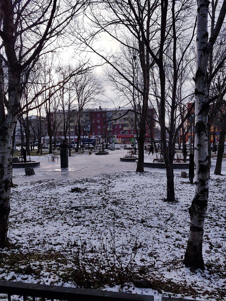Декабрь 2018г.Южно-Сахалинск, сквер имени В.М.Головин.jpg