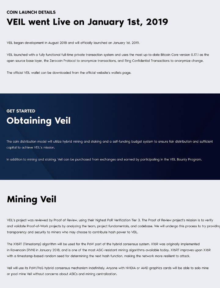 VEIL: PRIVACY COINS A BASIC NECESSITY IN CRYPTO SPACE