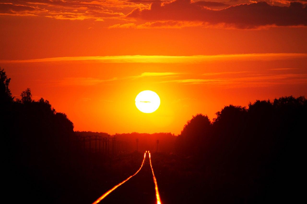 фото дорога к солнцу яркой особенностью дождевой