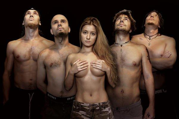 Naked band geeks
