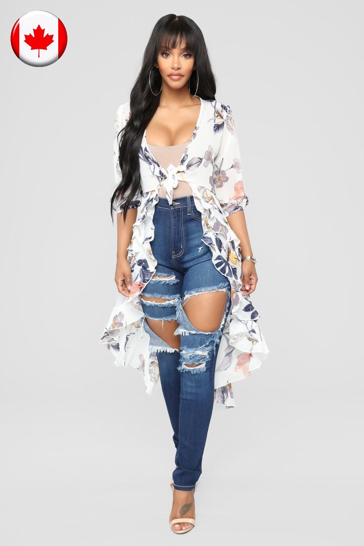 Магазин женской одежды в Сочи Адлере и Москве - женская одежда в Сочи Адлере и Москве КАНАДА - рваные джинсы из Турции