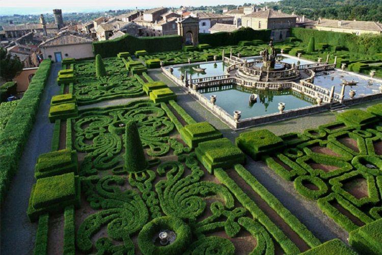Сады Боболи роскошь посреди резиденции Медичи.