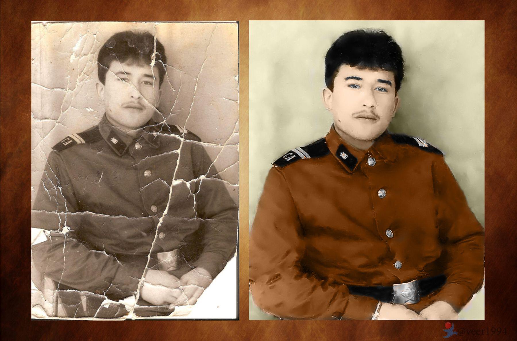 Реставрация старого фото в москве