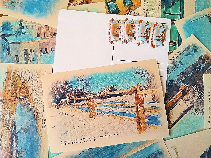 Авторские открытки посткроссинг