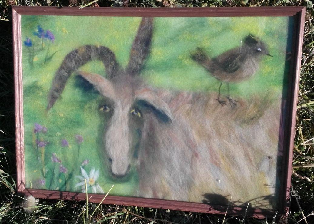 Картина коза Глаша
