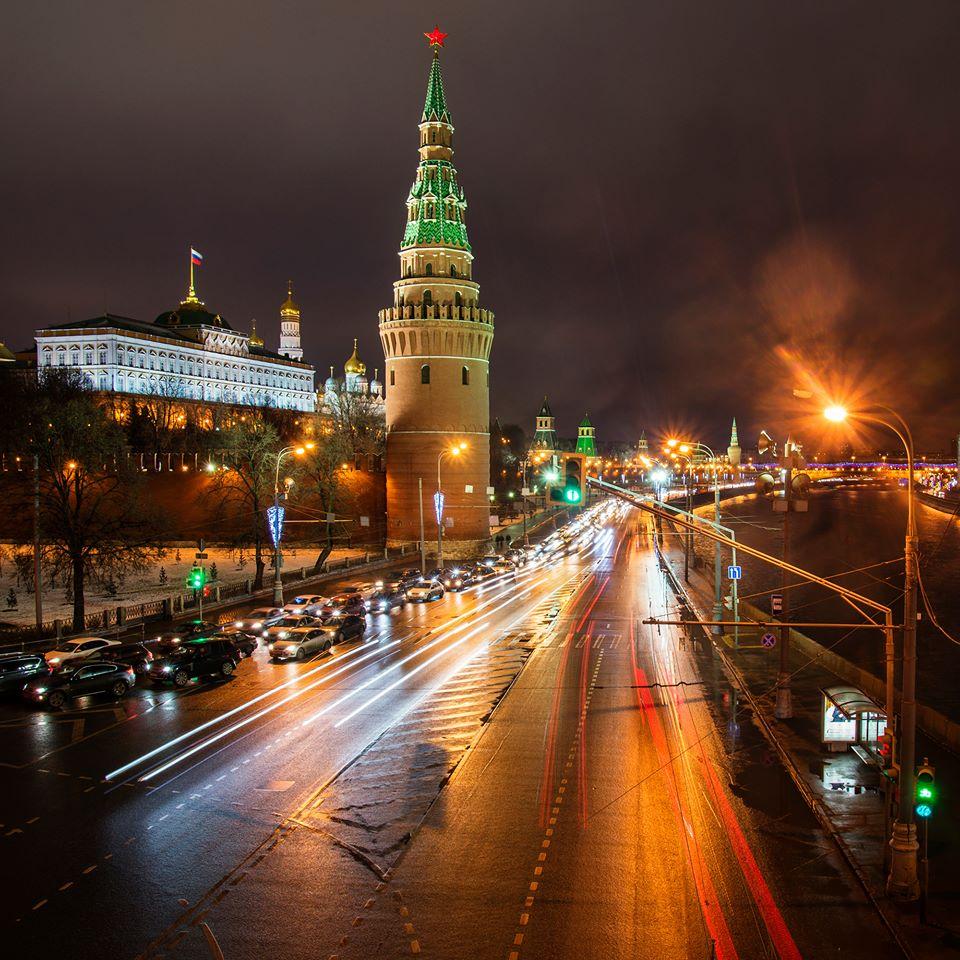 Фото москвы сейчас ночью
