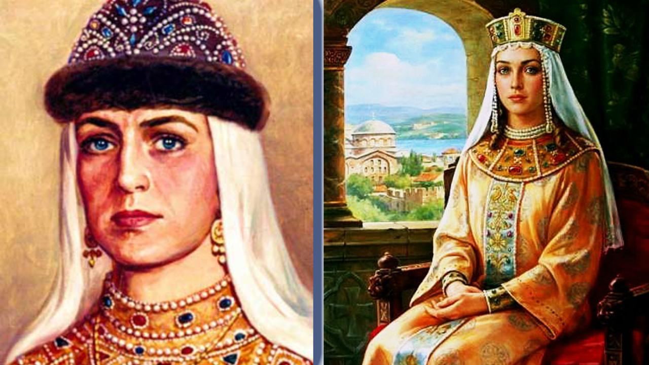 Женщина с удивительной судьбой – Великая Княгиня Ольга -  sanaz ... 740a4dce4c682