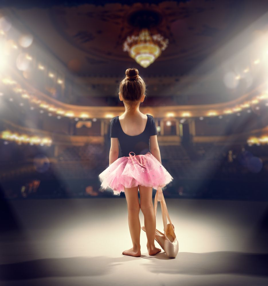девушка которая мечтала танцевать