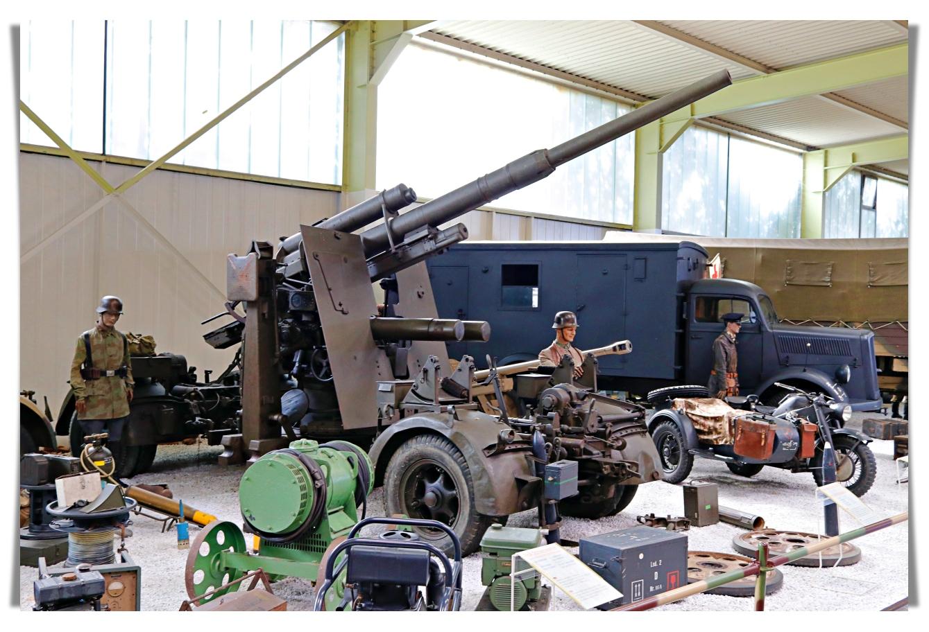 Немецкая пушка 8,8 cm Flak