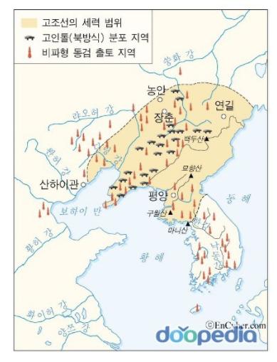 Кочосон или первое корейское госудаство