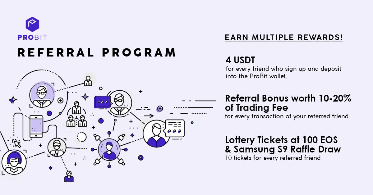 ProBit Introduces the Referral Program Offering the Best