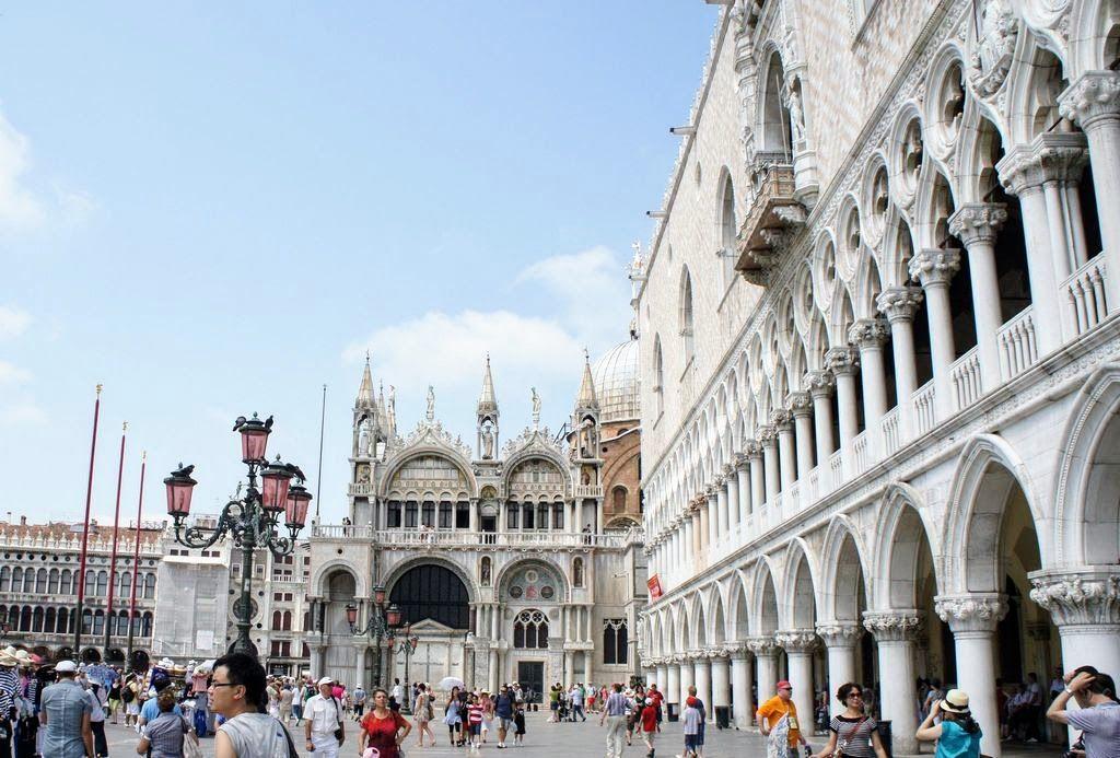 Неповторимый венецианский Дворец дожей