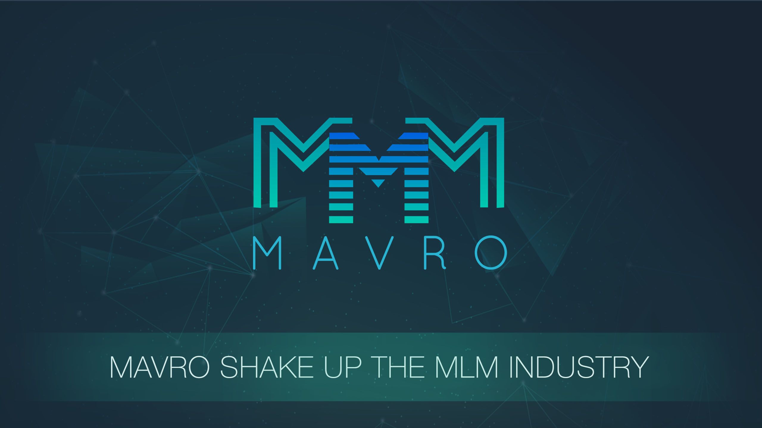 MAVRO SHAKE UP THE MLM INDUSTRY.jpg