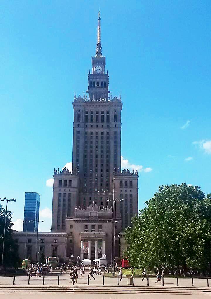 Метки путешественника. Варшава.