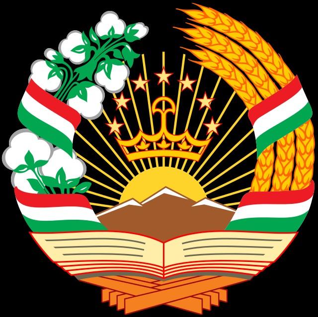 Картинка герб и флаг таджикистана