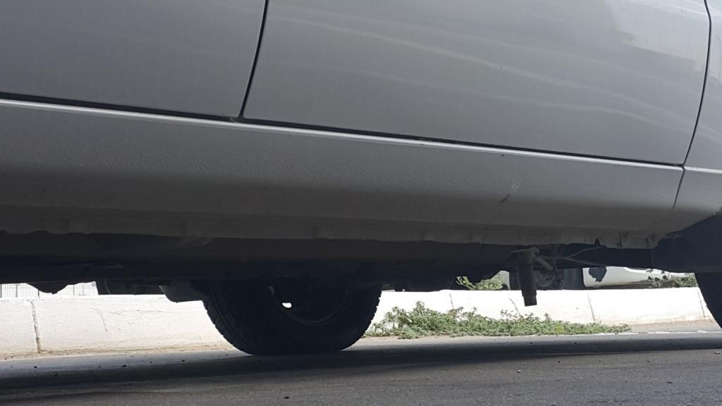 Датчик под днищем автомобиля