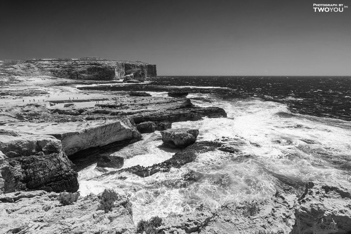День черно-белой фотографии: бухта Дуэйра