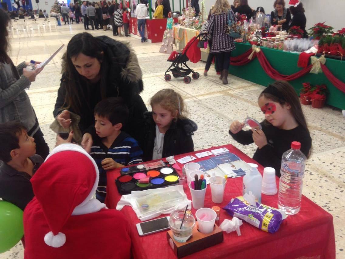 Рождественский базар в Греции