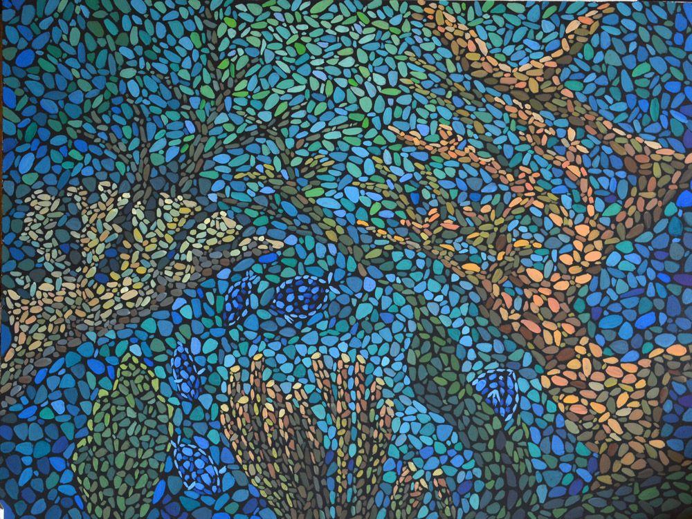 Море внутри. Холст, темпера, 60х80 см, художник М.Текун.jpg