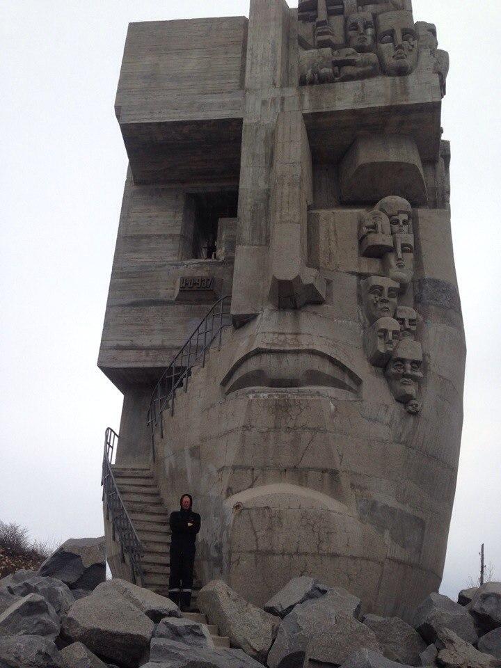 """Конкурс """"Памятники и фонтаны в городе"""". Магадан."""
