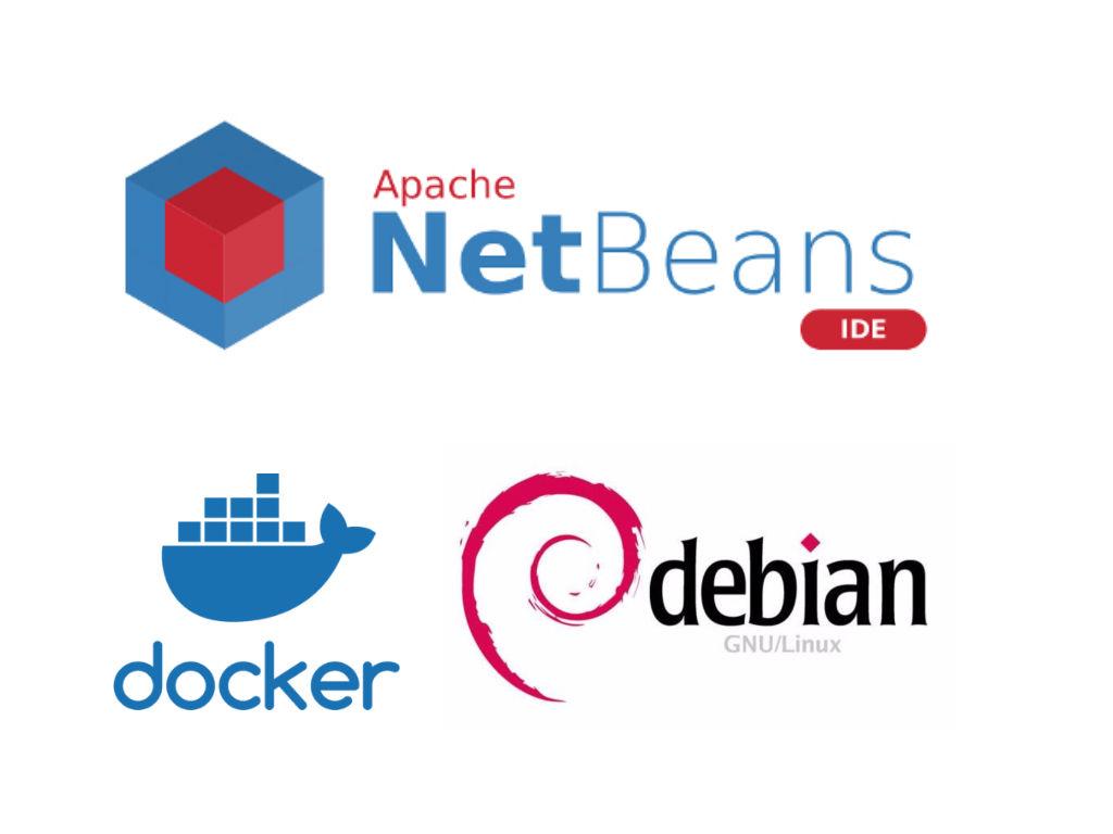 Netbeans + Docker + Debian