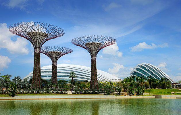 Flower Dome, Сингапур