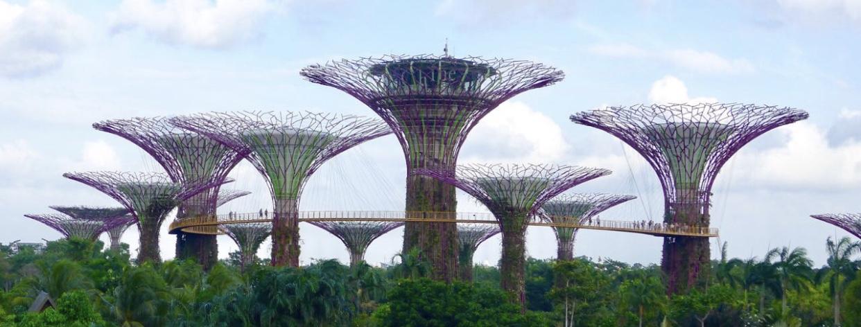 Парк Marina Bay, Сингапур