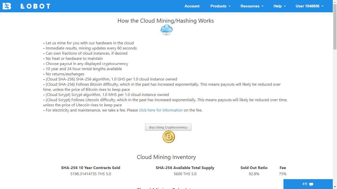 Cloud Mining-Eobot - @manusamlive - GoldVoice club