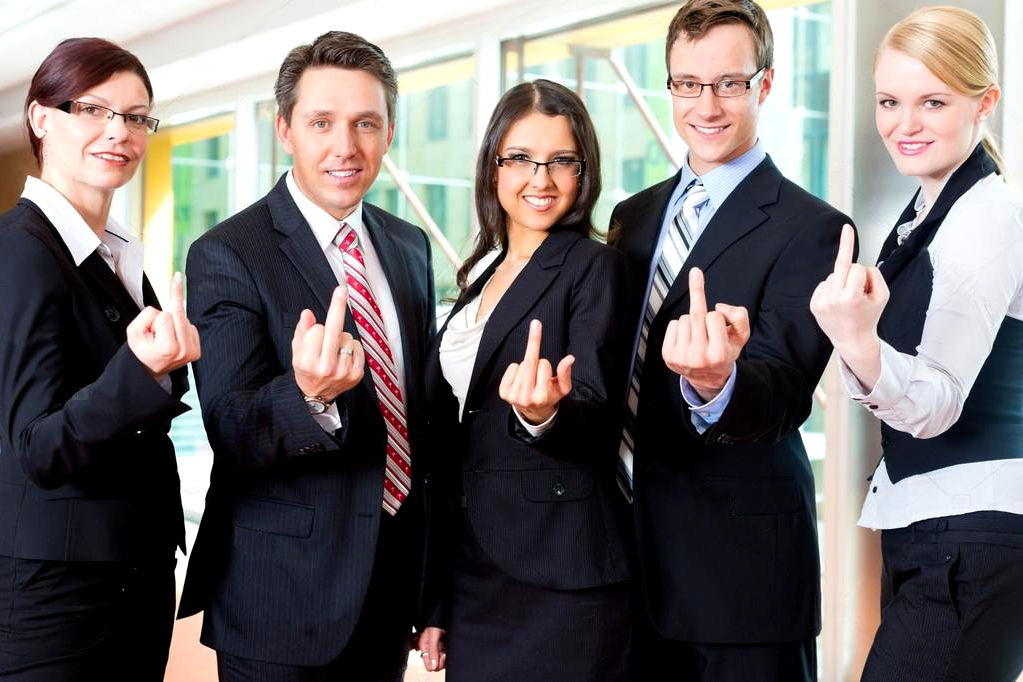 businesspeople show middle fingers.jpg