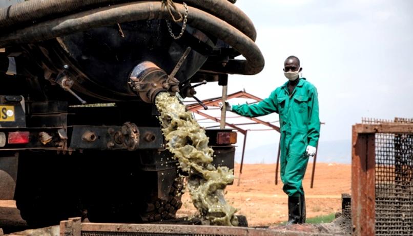 В Африке получают газ из отходов и мусора