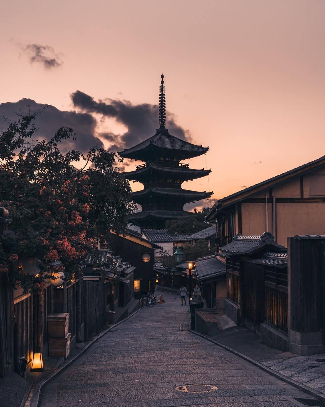 проживаете город киото в японии фото каждый вас