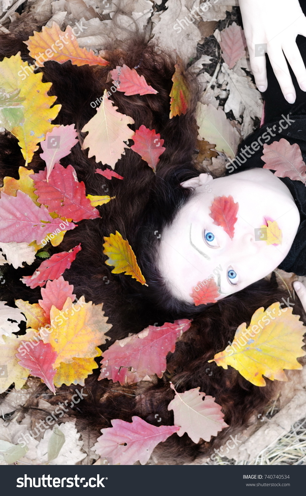 stock-photo-a-girl-with-loose-hair-she-lies-on-top-of-her-there-are-autumn-leaves-a-white-face-similar-to-a-740740534.jpg