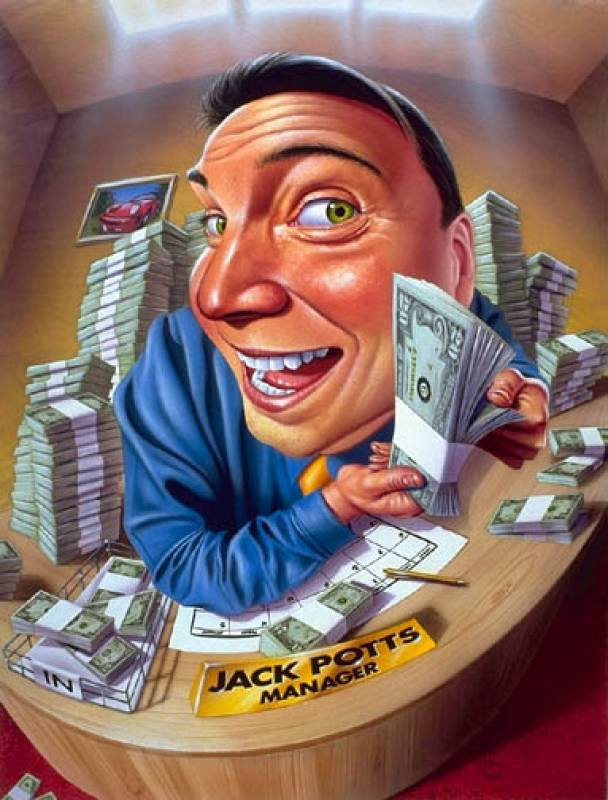 Картинки, смешные рисунки с деньгами