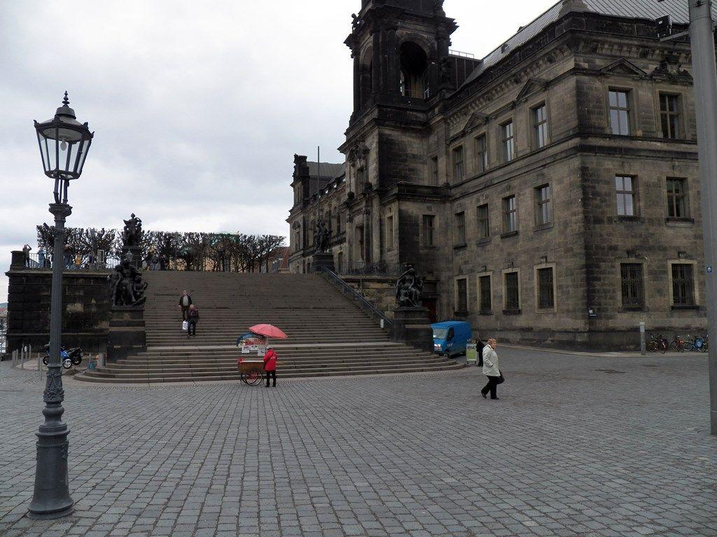 брюльской террасе в Дрездене.JPG