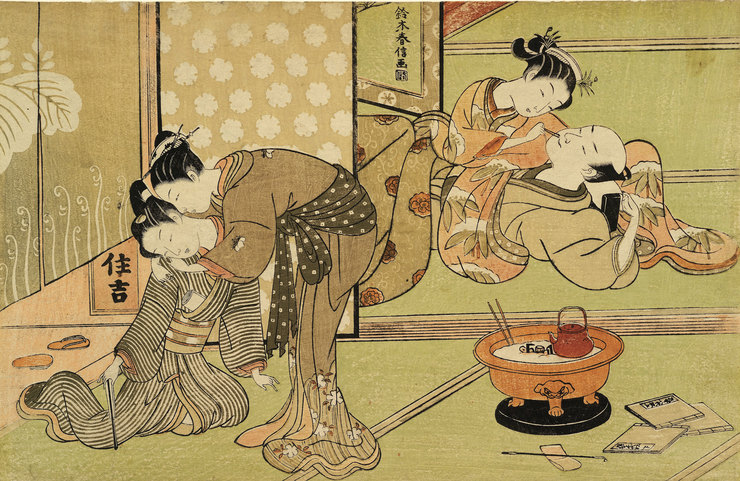 Японская эротика культур считаю