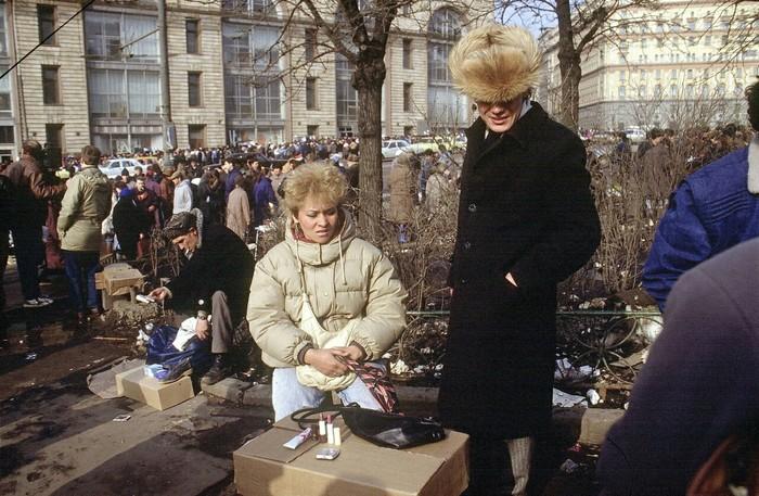 Москва 1990 год