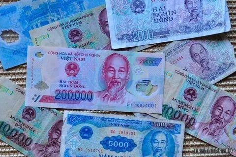 Валюта в нячанге вьетнам